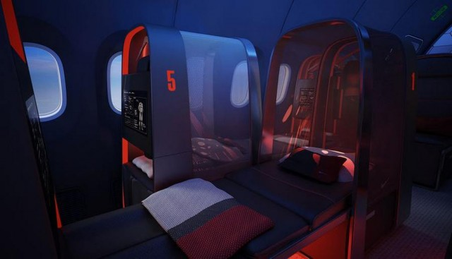 Nike's sports aircraft cabin (4)