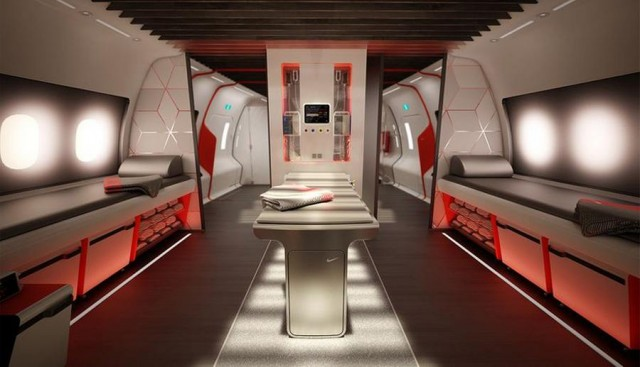 Nike's sports aircraft cabin (3)