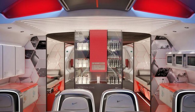 Nike's sports aircraft cabin (2)