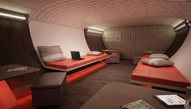 Nike's sports aircraft cabin (1)