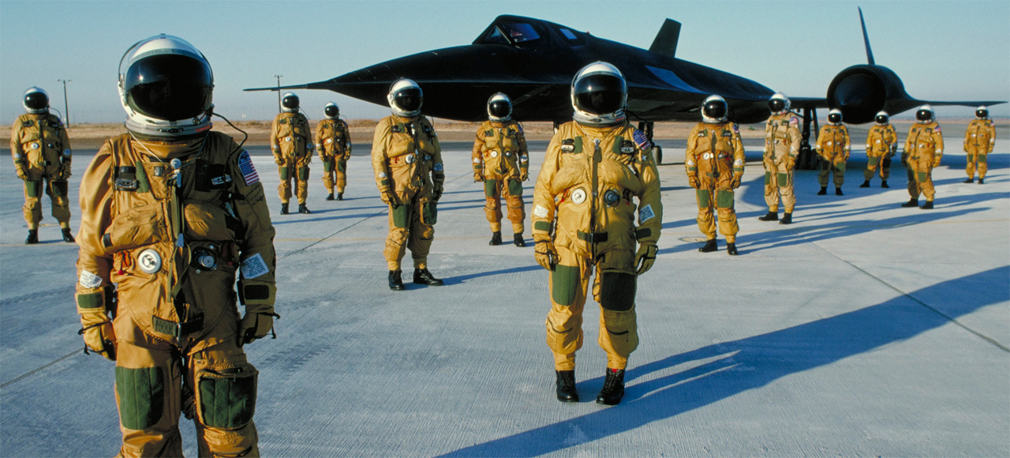 Lockheed SR-71 Blackbird team 2