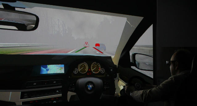 Revolutionary head up display