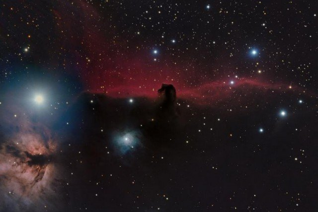 The Horsehead Nebula (IC 434) by Shishir and Shashank Dholakia