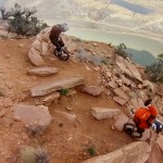 Unicycling the mountains of Moab