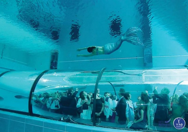Y-40 the deepest pool