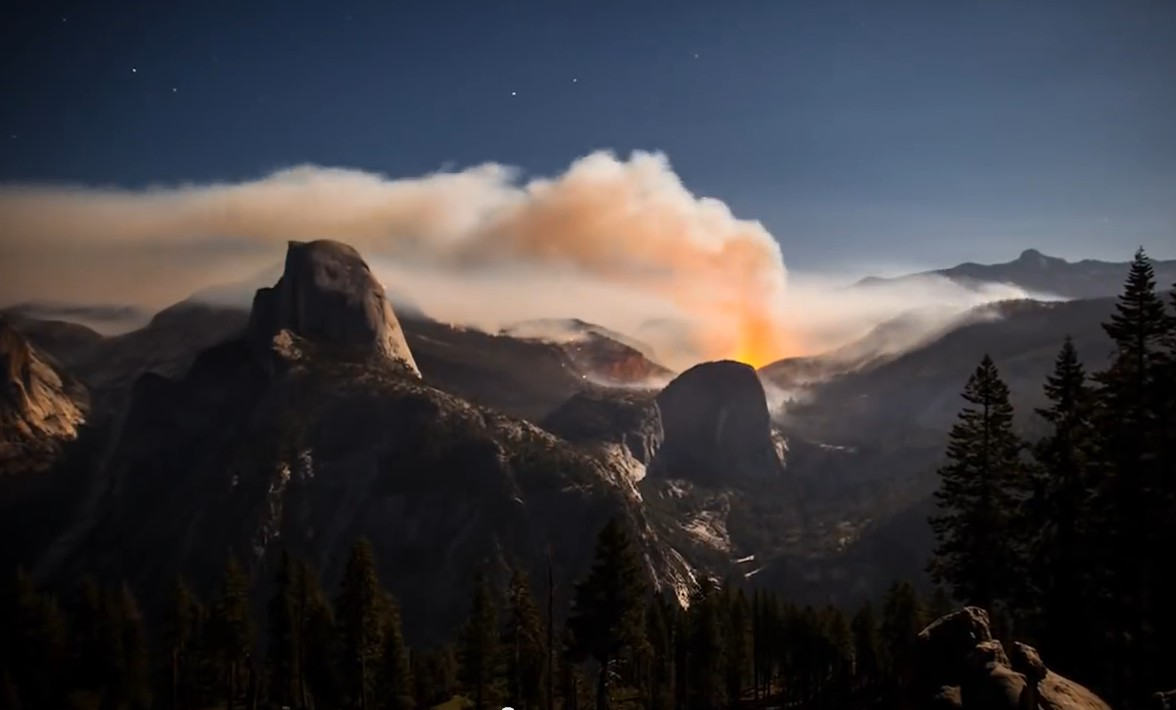 Yosemite Meadow Fire