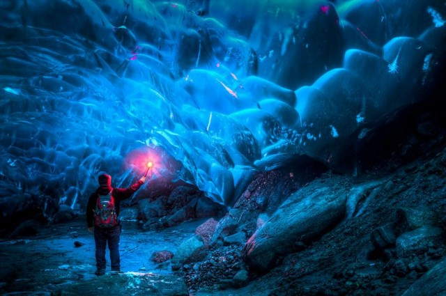 Alaskan Ice Cave by Ron Gile (8)