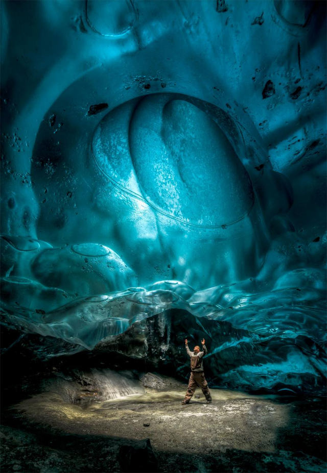 Alaskan Ice Cave by Ron Gile (7)