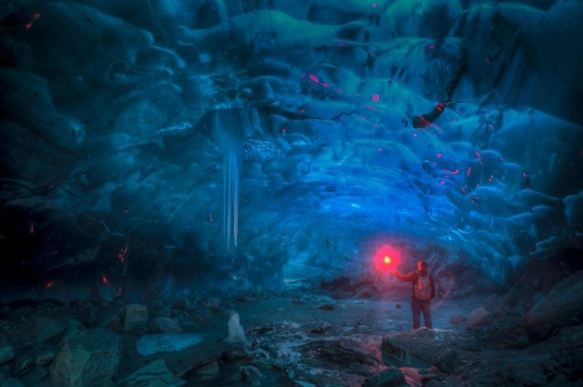 Alaskan Ice Cave by Ron Gile (6)