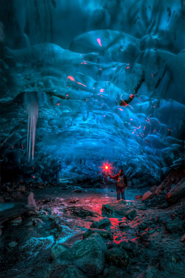 Alaskan Ice Cave by Ron Gile (4)