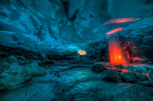 Alaskan Ice Cave by Ron Gile (2)