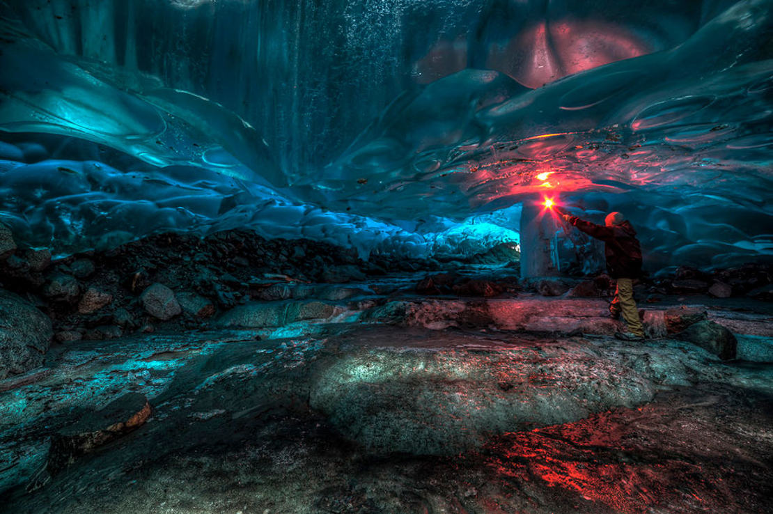 Alaskan Ice Cave by Ron Gile (1)