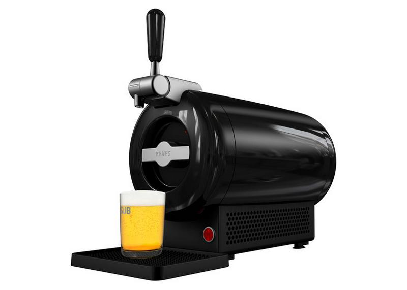 Beer Machine. The Beer Machine is a simple home brewing machine that makes beer fast. With the Beer Machine you can make beer at home with no kitchen required, no boiling of ingredients, no additives or long waits to start enjoying your favorite beers.