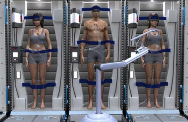 Deep Sleep option for Mars Mission Crew