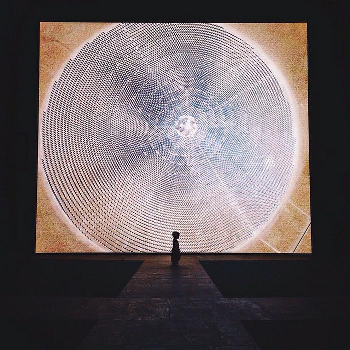 Lincoln Center Nevada solar thermal power plant simulation (6)