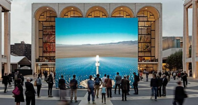 Lincoln Center Nevada solar thermal power plant simulation (1)