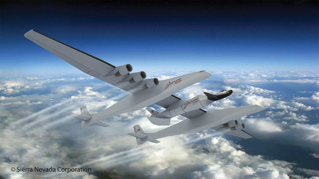 Dream Chaser with Stratolaunch