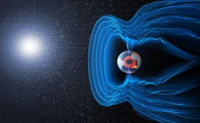 magnetic field of Erth