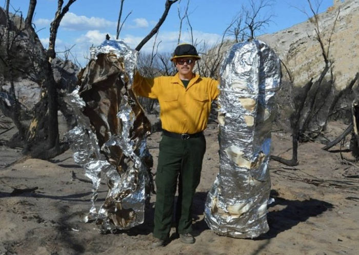 cloak to protect forest firefighters