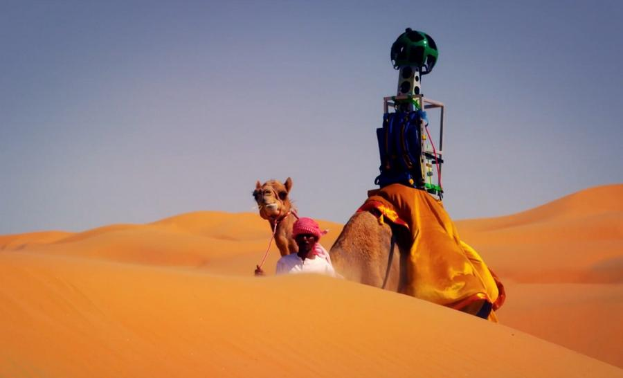 Camels for Street View