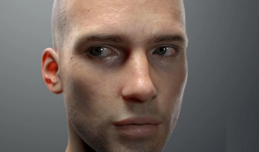 digital human head