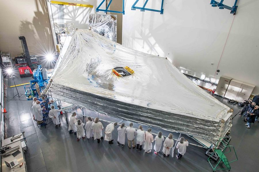 Webb Space Telescope Sunshield (9)