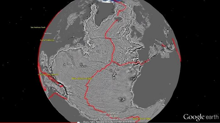 Wordlesstech satellite map sea floor with unprecedented for 10 facts about sea floor spreading