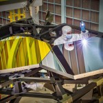 Silver and Gold mirrors of Webb Space Telescope