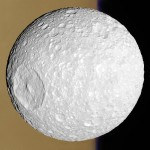 Small Moon Mimas