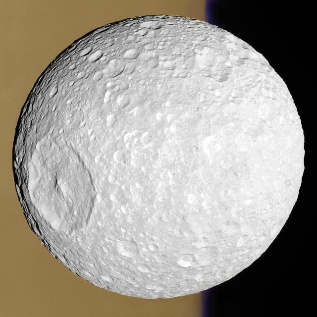 Saturn's moon Mimas