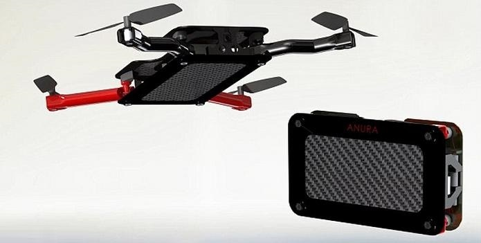 Anura mini quadcopter