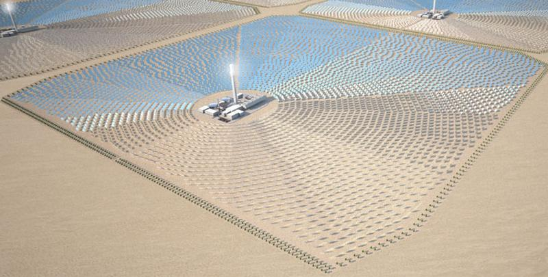 Solar energy from Africa for UK