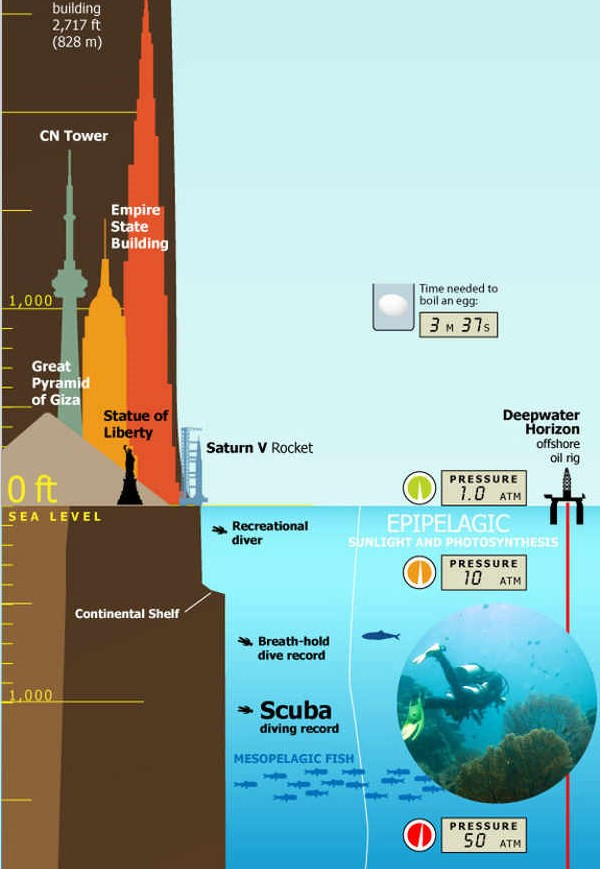 Tallest Mountain to Deepest Ocean