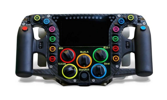 Porsche 919 race car Steering wheel