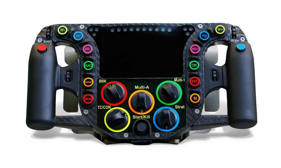 Porsche 919 race car Steering wheel (6)