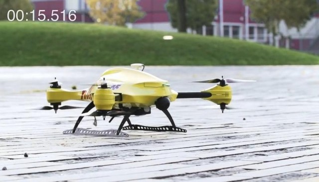 ambulance unmanned aerial vehicle