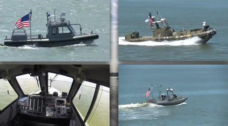Unmanned patrol boats