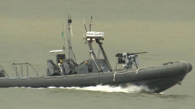 Unmanned patrol boats 2