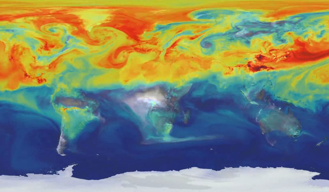 A Year in the Life of Earth's CO2