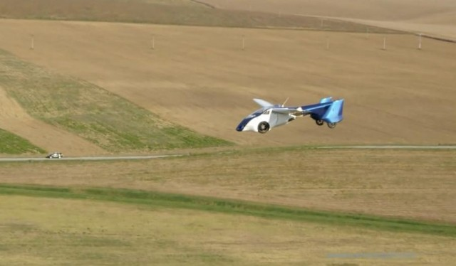 AeroMobil 3.0 in flying tests