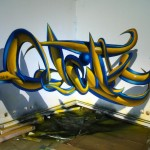Anamorphic Graffiti artworks by Odeith