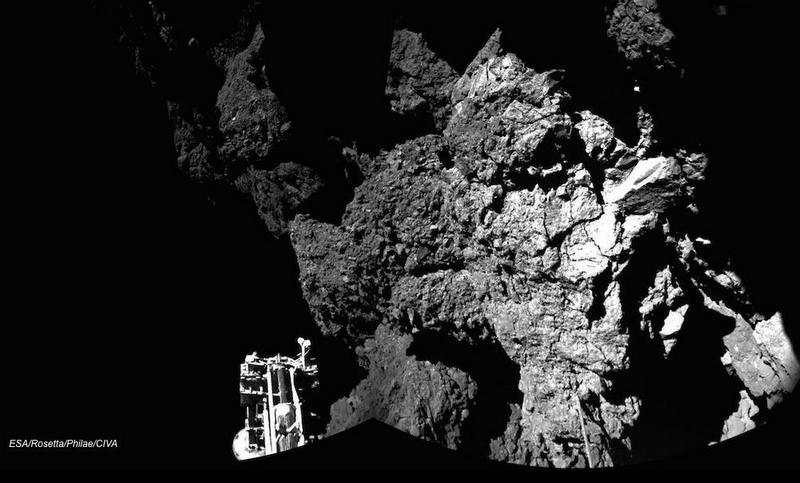 Images sent by Philae lander (3)
