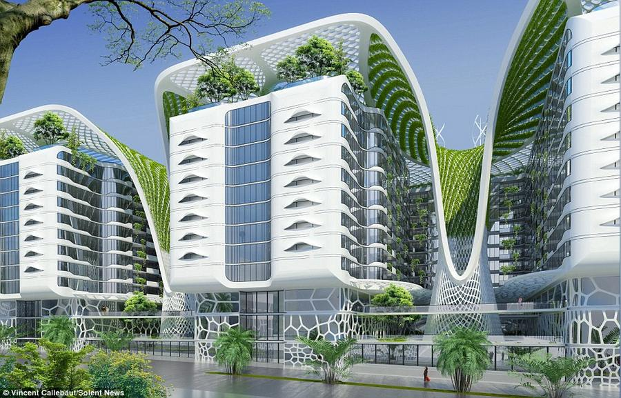 Wordlesstech Gate Residence The Ultimate Green Building