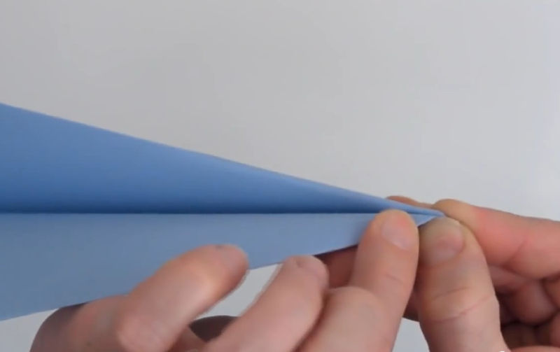 How to Fold Paper Airplane