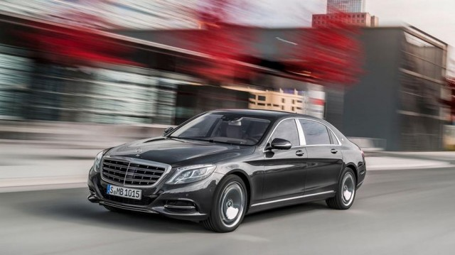 Mercedes - Maybach S600 (1)