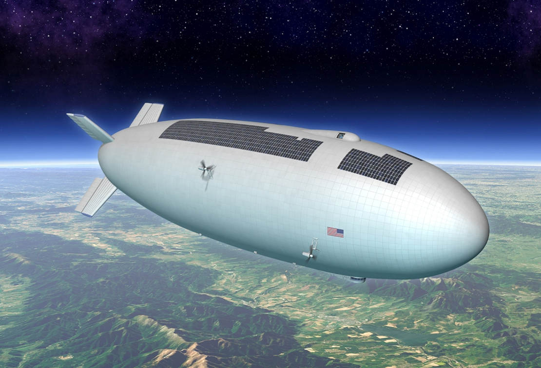 NASA's high-altitude airship concept