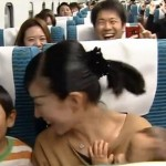 Passengers in Maglev train at 500km/h