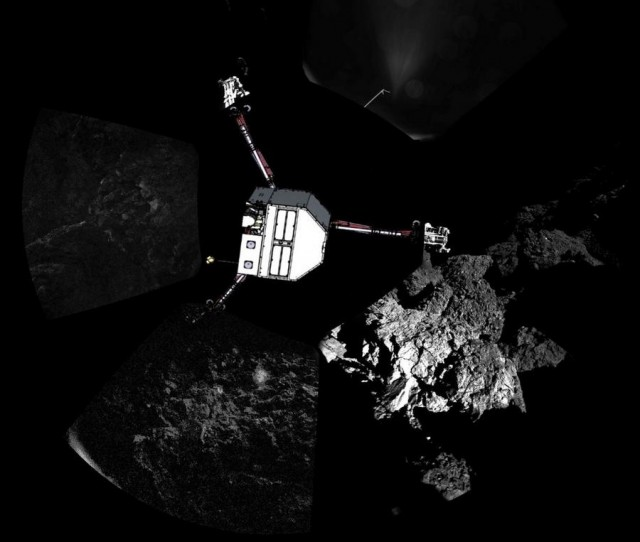 Philae and the comet