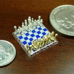 Smallest jewelry Chess set