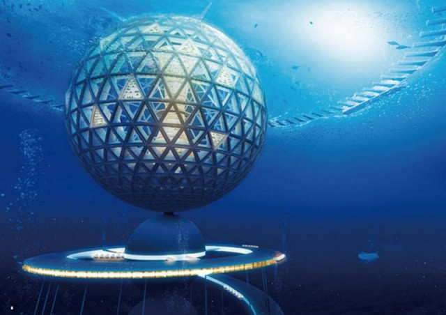 Underwater City by Shimizu Corporation
